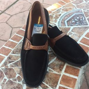 Johnston & Murphy Black and brown made Italy 11/12